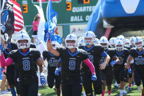 Football Shoots to Secure District Title