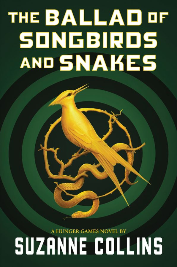 Book cover of Ballad of Songbirds and Snakes