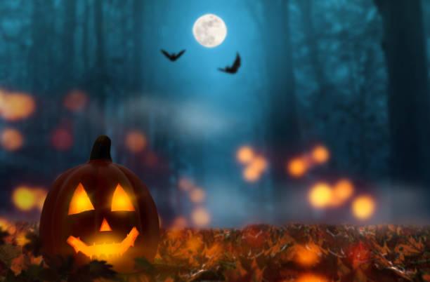 jack+lantern+in+the+halloween+night