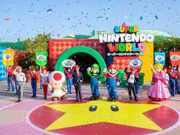 Super Nintendo World Opens