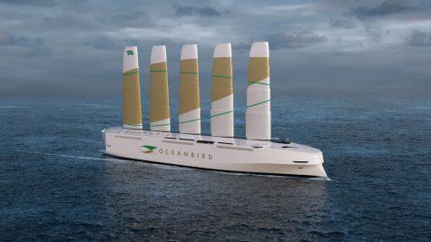 Ocean Bird sail ship